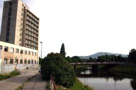 Budova internátu Mladosť